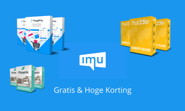 IMU: Korting & Gratis Toegang Tot Alles [Internet Marketing Unie]