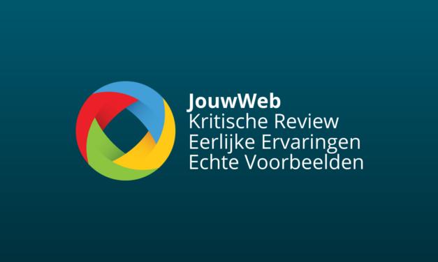 JouwWeb Ervaringen, Review & Voorbeelden [2021] [Slecht?]