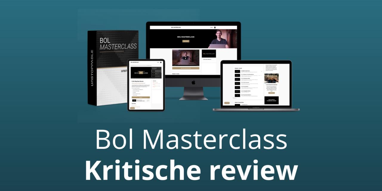 Bol Masterclass 4.0 Kopen? [Fact-Check] [Review & Ervaringen Winston Zwemmer]
