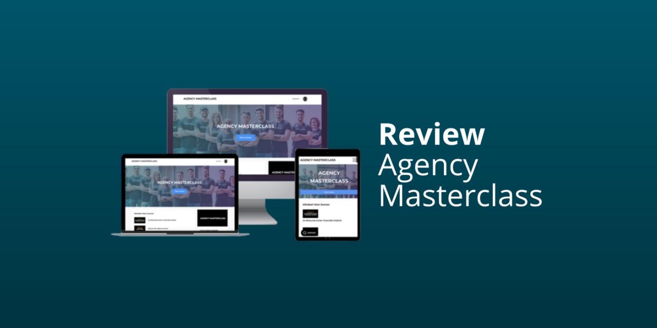 Mitchell Weijerman's Agency Masterclass Review [Kopen? De Waarheid]