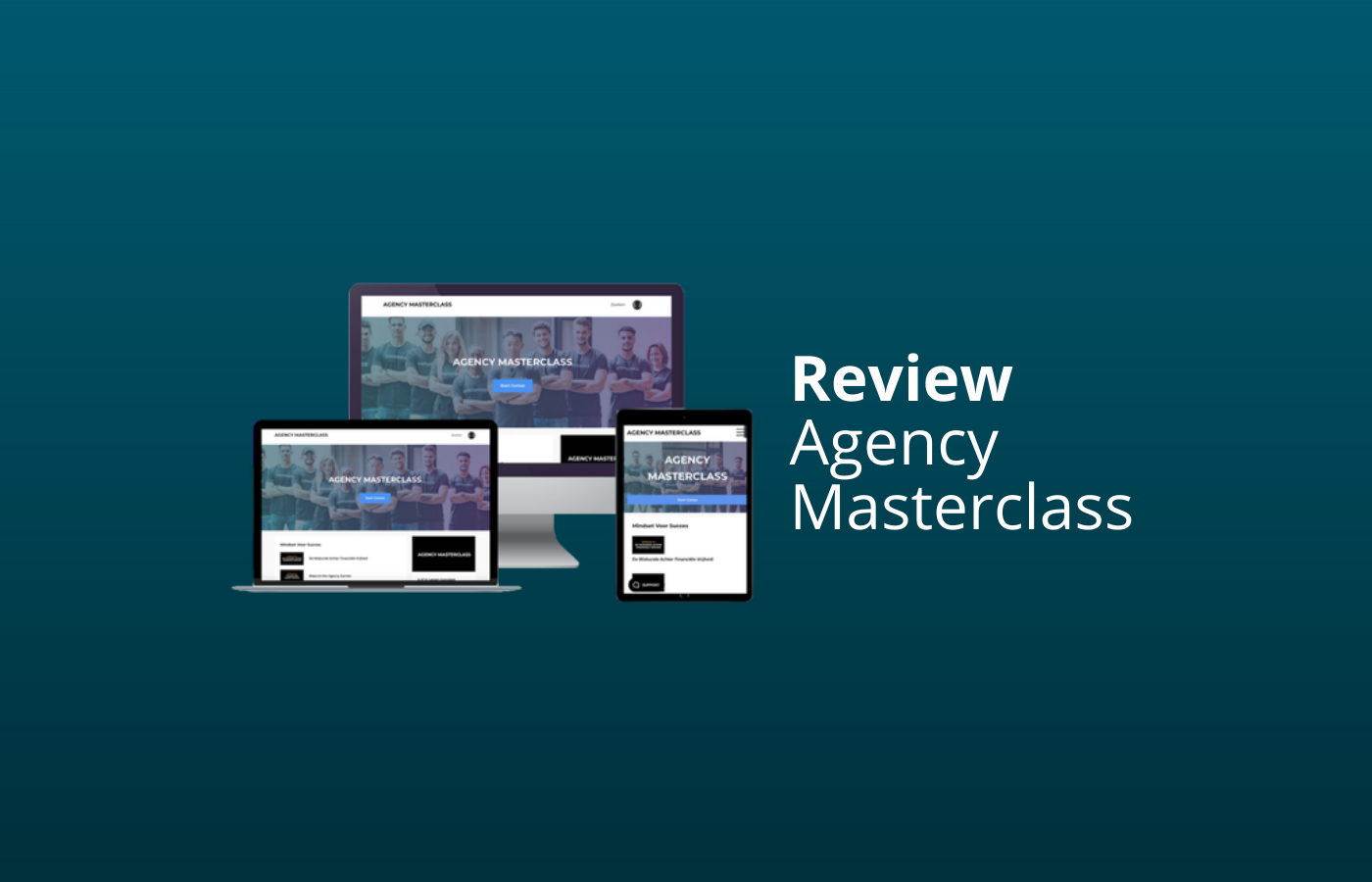 agency masterclass review en ervaringen