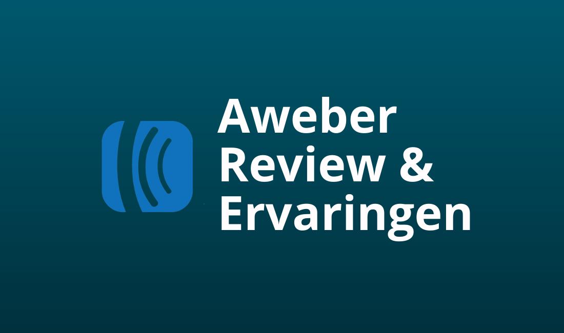 aweber ervaringen en review nederland