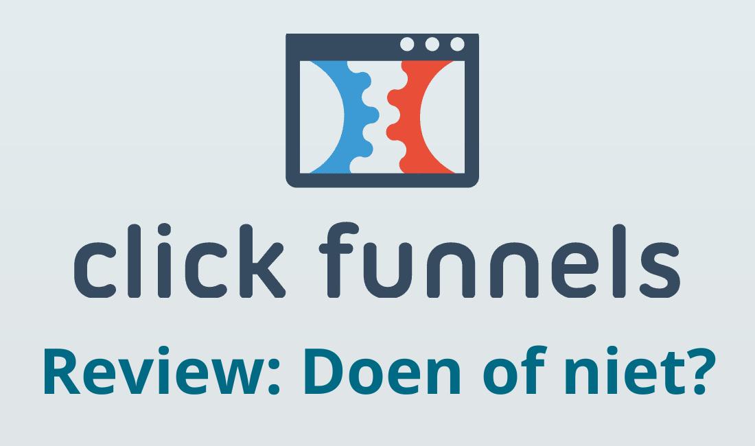 clickfunnels nederland review