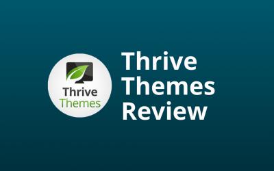 Thrive Themes Review: Lelijk Maar Converterend? [Pas Op]