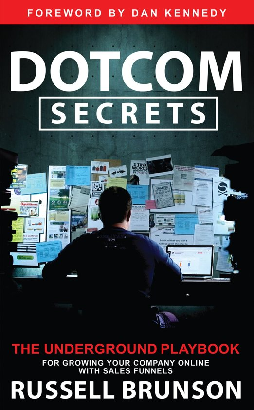 dotcom secrets boek over online marketing