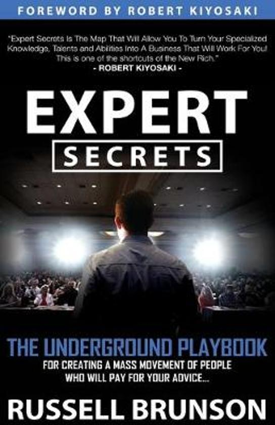 expert secrets boek over online marketing