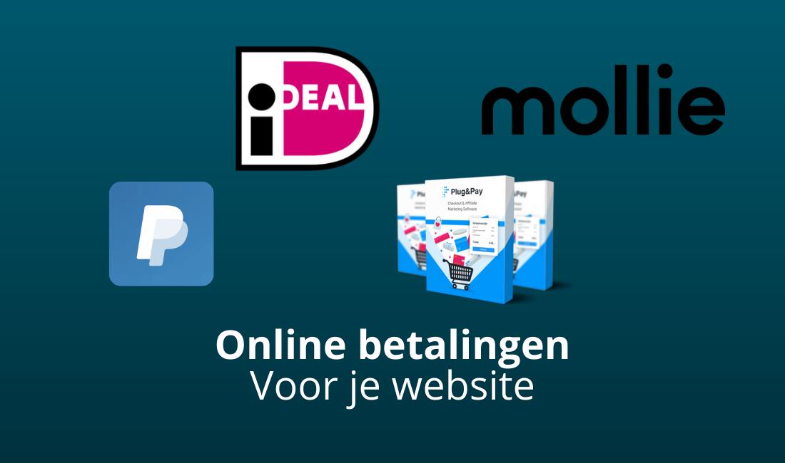 online betaalsystemen voor je website