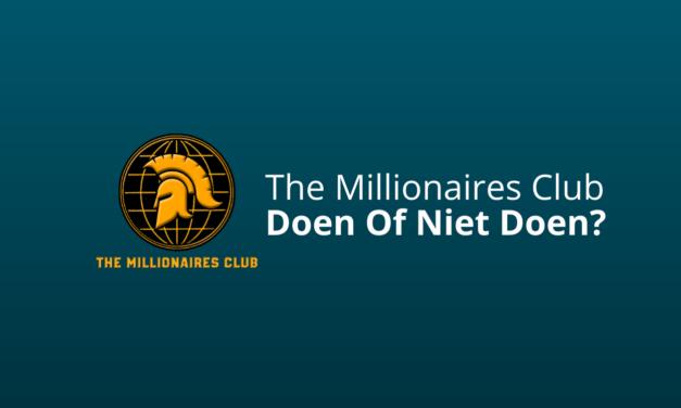 The Millionaires Club Ervaringen & Review [Boef & Vasco Rouw]