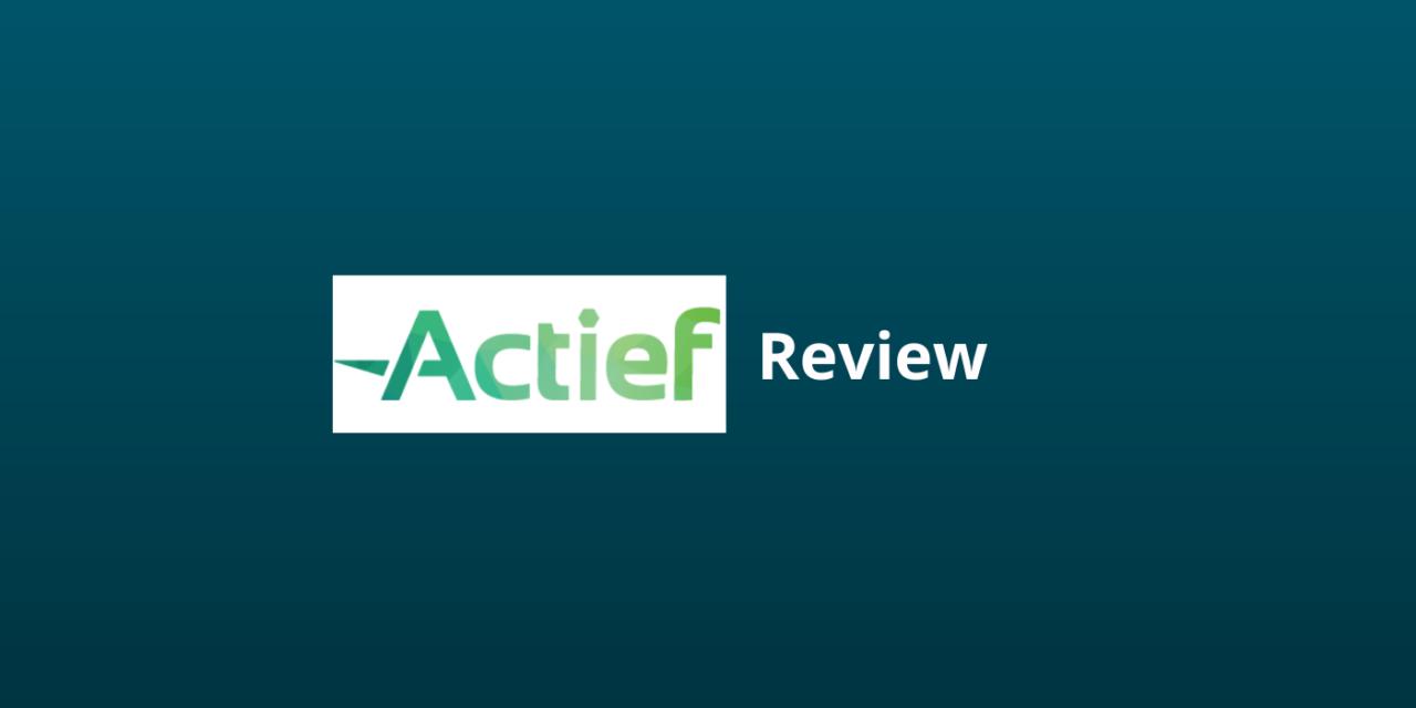 Leer Meer Over Actief.nl: Hét Online Platform Voor Vastgoedbeleggers?
