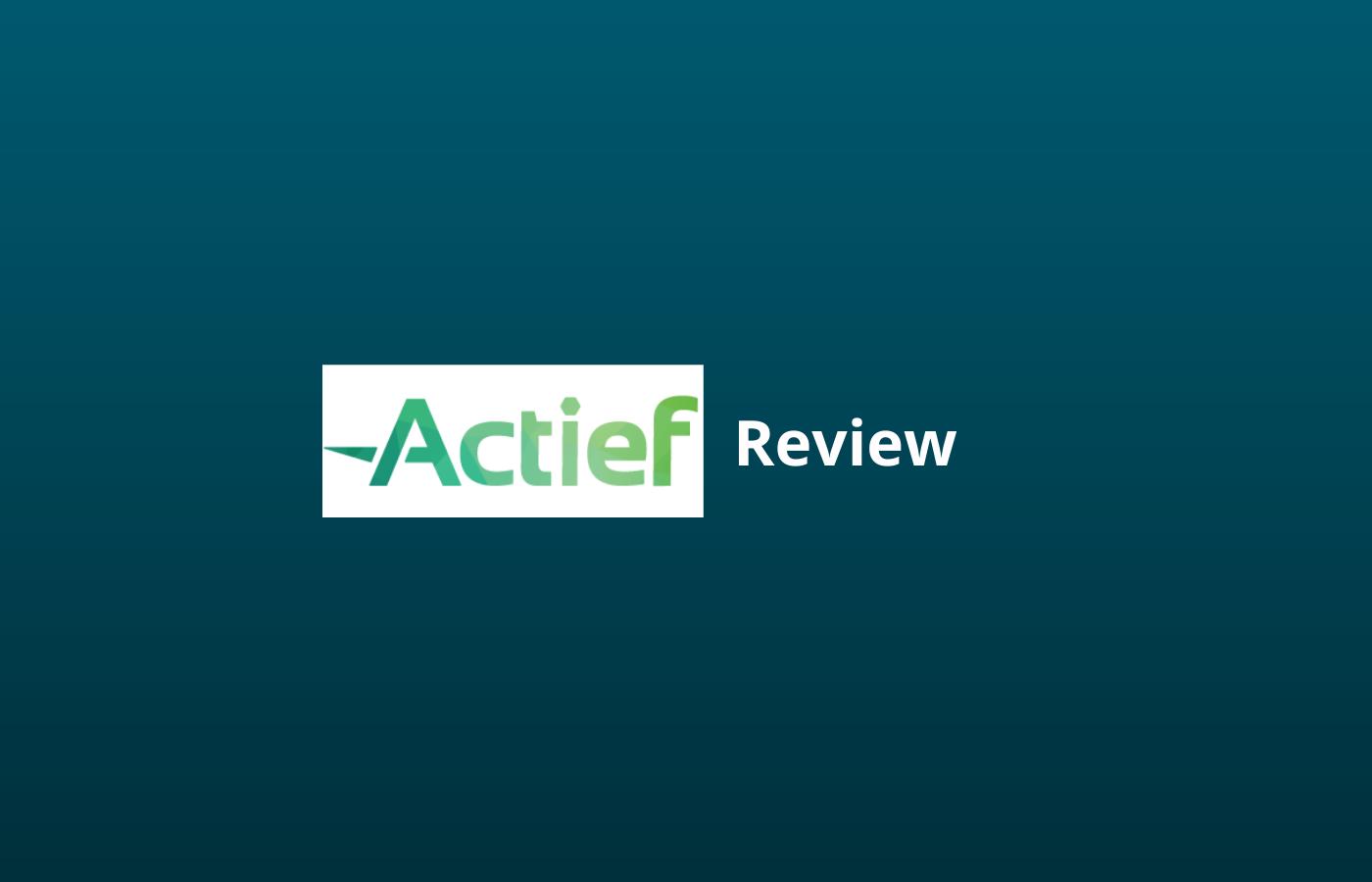 actief ervaringen review