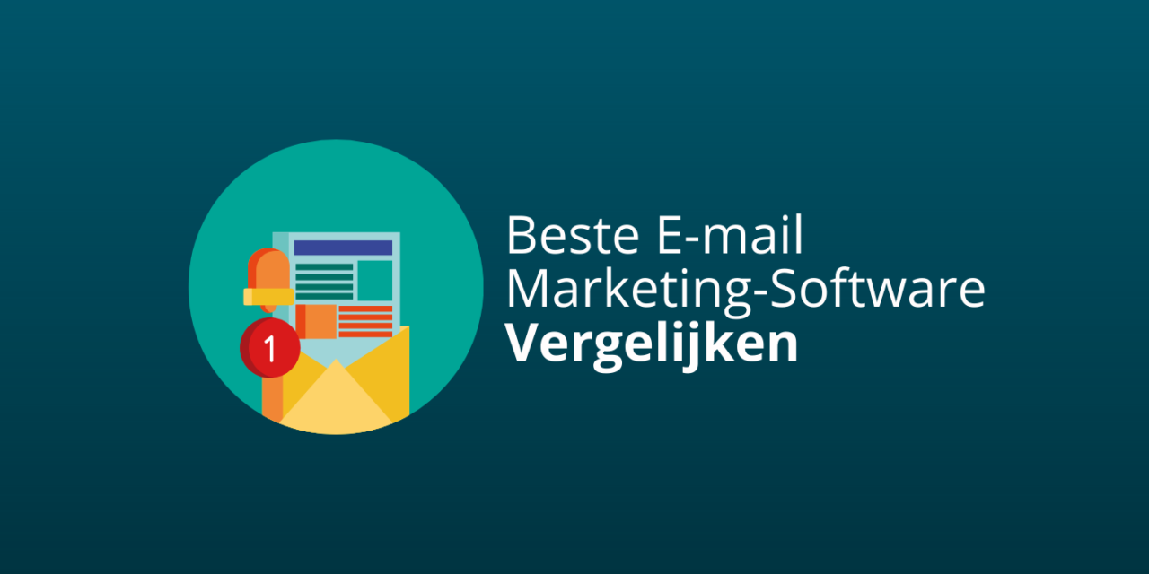 Beste e-mailmarketing-software vergelijken [Update 2021]