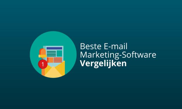 Beste E-mailmarketing-Software [#1 Keuzes 2021 Vergelijken]