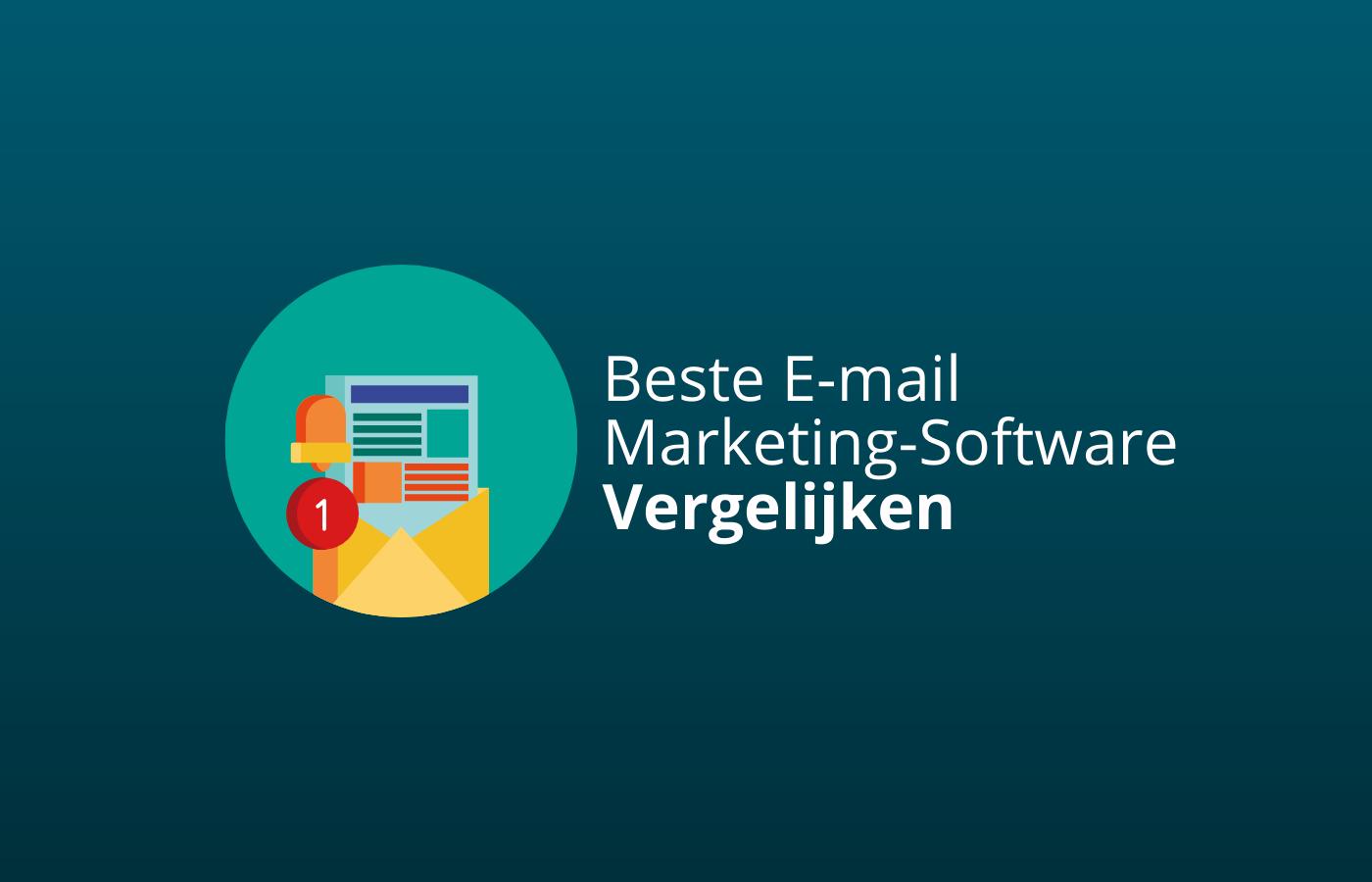 beste email marketing software vergelijken aanraders