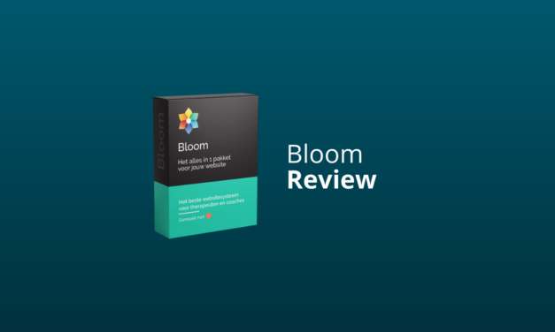 Bloom Review: Goed Websitesysteem Voor Therapeuten & Coaches?