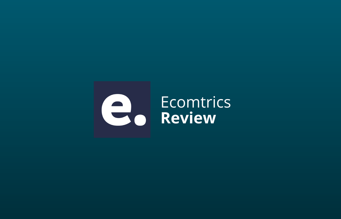 ecomtrics review ervaringen