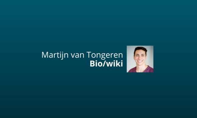 Martijn van Tongeren: Alles Wat Je Over Hem Moet Weten [IMU]