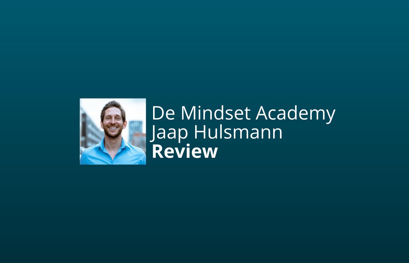 mindset academy review ervaringen