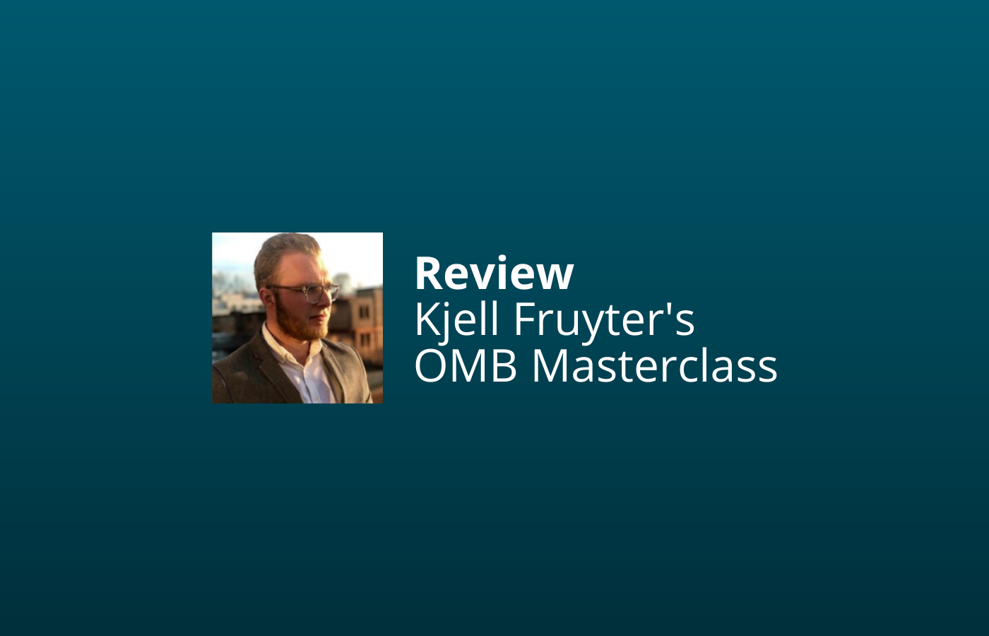 omb masterclass review