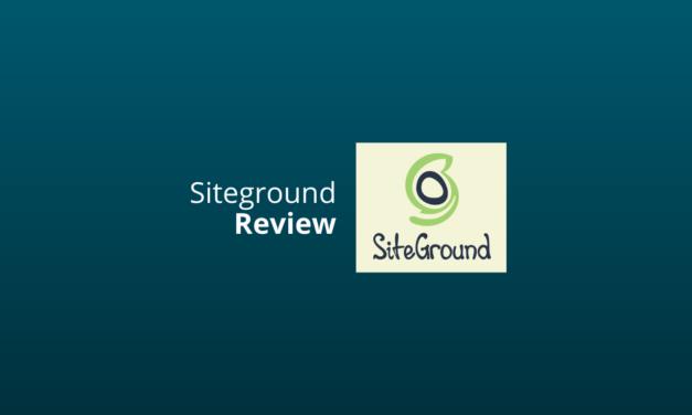 Siteground Webhosting Ervaringen Nederland [Eerlijke Review] [2021]