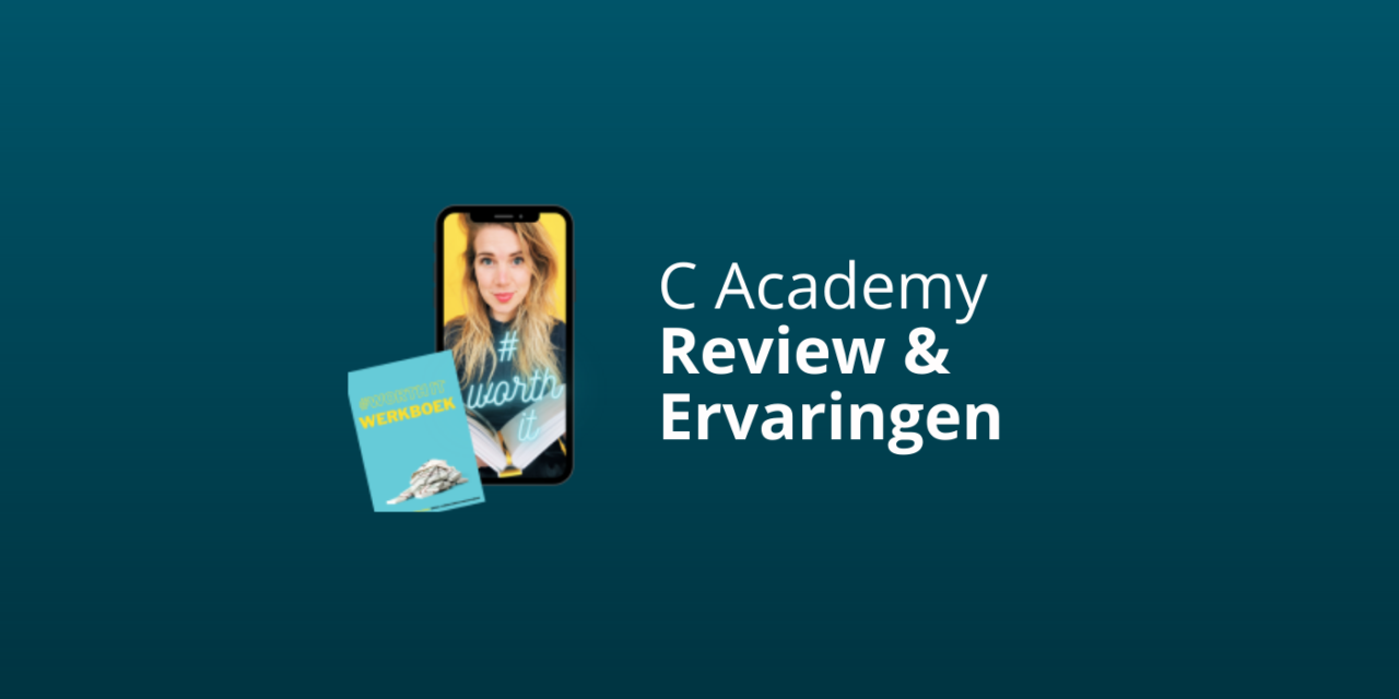 C. Academy Review & Ervaringen 2021 [Charlotte Van 't Wout]