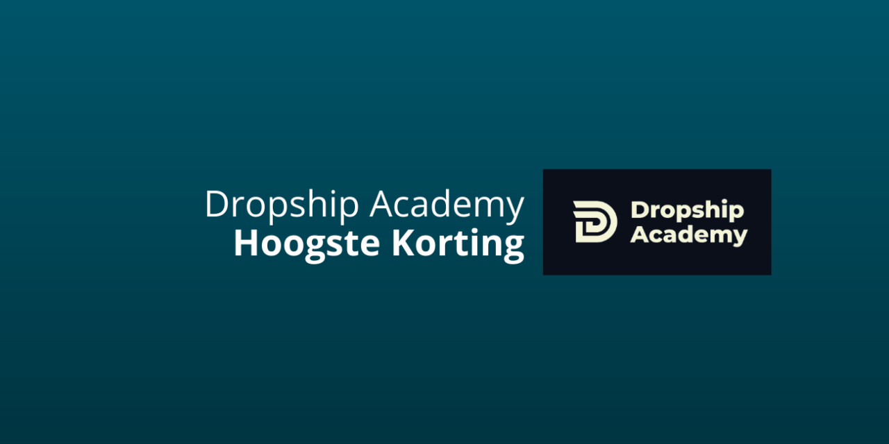 Korting: High Ticket Dropship Academy [HTDSA] [Joshua Kaats]