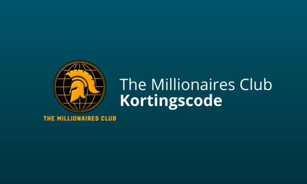 Kortingscode The Millionaires Club [Werkend]