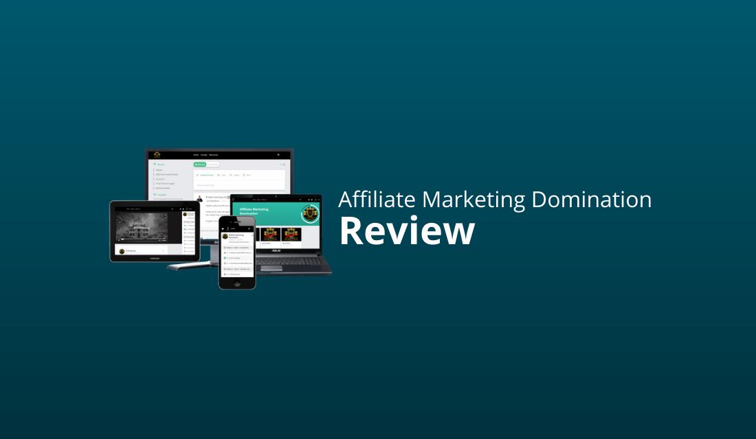 Affiliate Marketing Domination Review & Kortingscode [AMD Ervaringen]