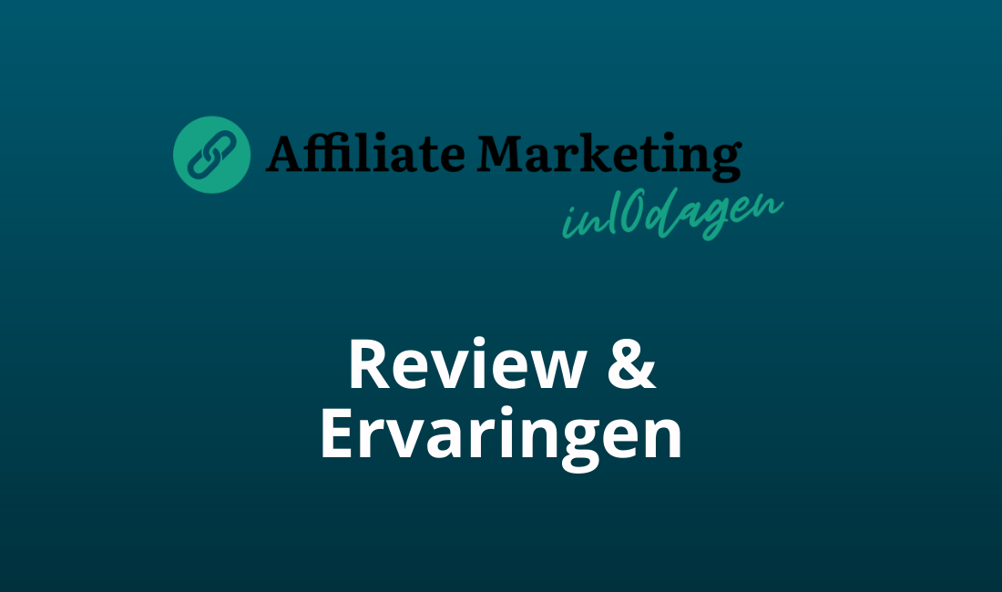 affiliate marketing in 10 dagen review en ervaringen