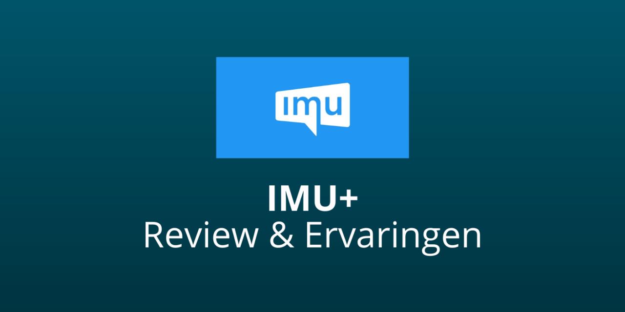 IMU Plus Review: Onze Ervaringen Met IMU+ [Cursus & Community 2021]