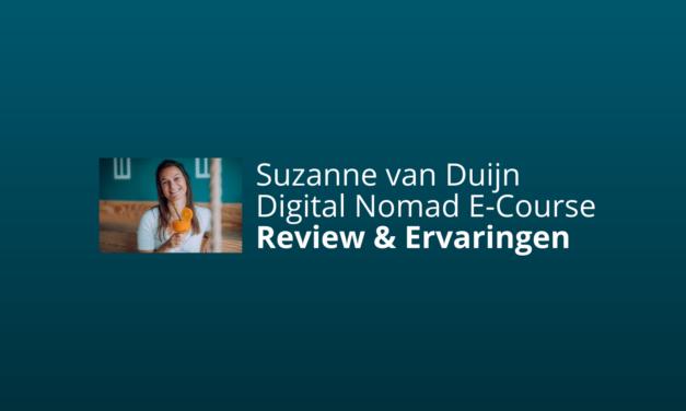 Reivew: Suzanne van Duijn's Digital Nomad E-Course [Vrije Meijd]