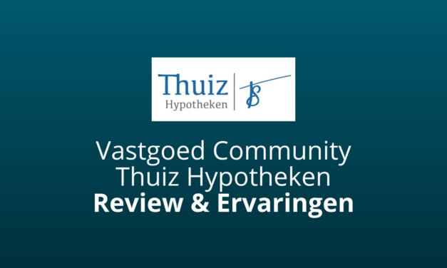 Vastgoed Community Van Thuiz Hypotheken [Review & Ervaringen]