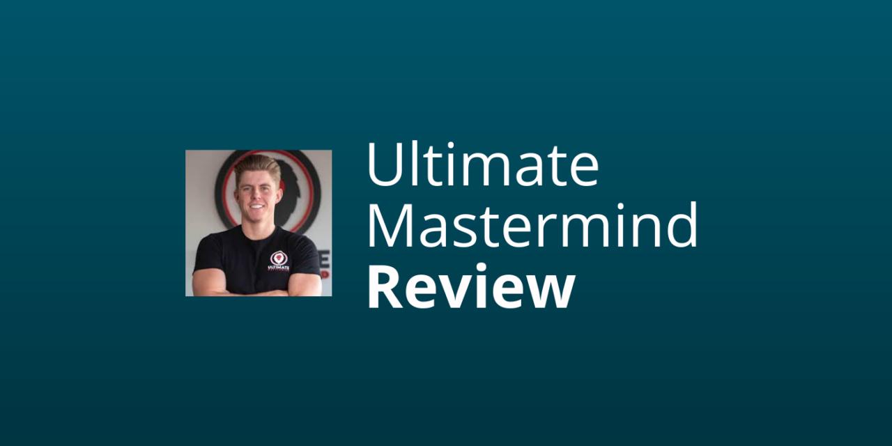 Ultimate Mastermind – René Cooiman [Review & Ervaringen] [2021]
