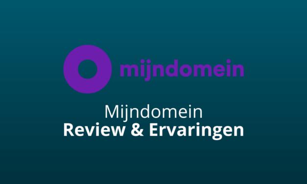 Mijndomein Review & Ervaringen: Bedrogen? [2021 Update]