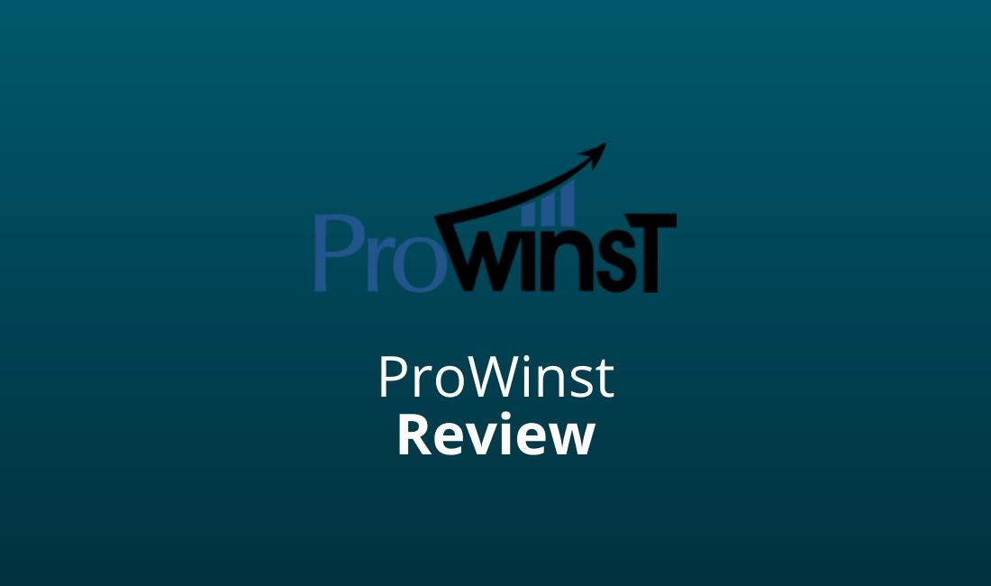 ProWinst Review En Ervaringen