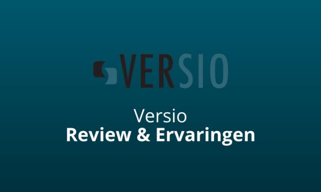 Versio Review & Ervaringen: Goede Hostingpartij? [2021 Update]