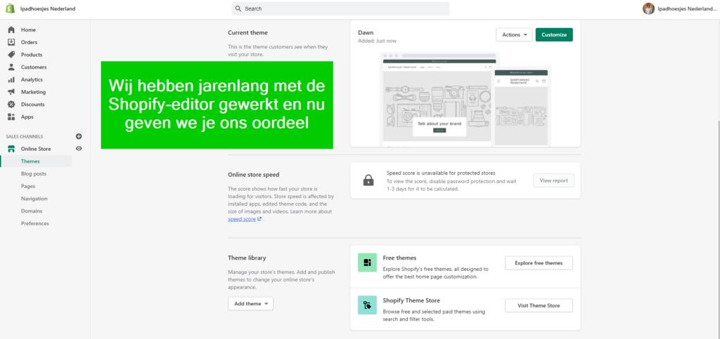 shopify review en ervaringen van bedrijvenconsultant